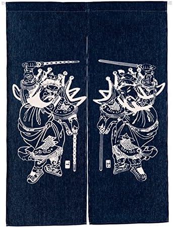 MR FANTASY - Cortina de puerta japonesa noresa, de algodón y lino ...