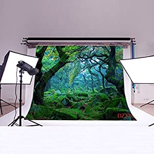 Backdropday Virgin forest Thin Vinyl Customized Backdrop CP Photography Prop Photo Background DZ279