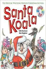 Santa koala book and cd