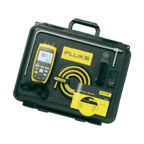 Fluke 922/Kit Airflow Meter Kit with a NIST-Traceable Calibration Certificate with Data by Fluke