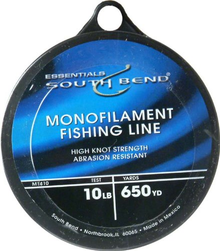 South Bend Mono Fishing Line 10-Pounds/650Yds (Clear), Outdoor Stuffs