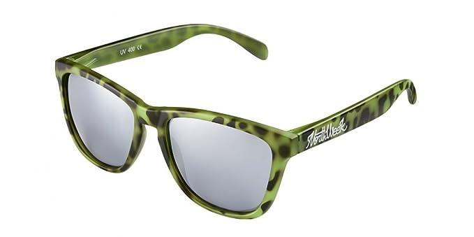 Gafas de sol Northweek - Regular Tortoise Green & Silver ...