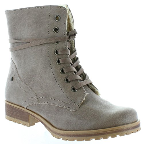 Botas de Mujer MTNG 52949 GOBY TAUPE