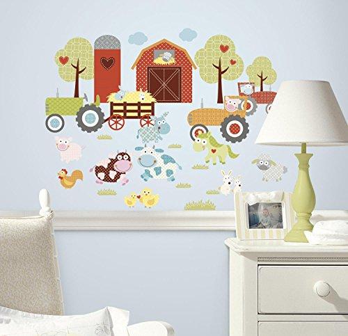 Peel & Stick Wall Decals - Happi Barnyard