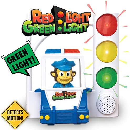 Red Light Green Light - Interactive, Motion Sensing Toy Includes 3 Unique Games For Kids Ages 4-8