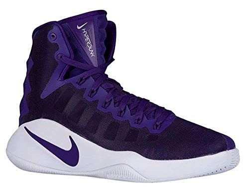best service 1420c 1a37a NIKE Hyperdunk 2016 TB Men 12 Basketball Shoes Purple White 844368