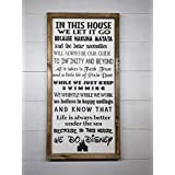 IN THIS HOUSE WE DO DISNEY | DISNEY FAMILY | DISNEY SIGN | DISNEY DECORATION