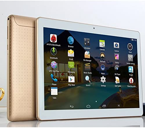 Amazon Com 10 Inch Tablet Pc 4gb Ram 64gb Rom Octa Core Ips 25601600 Dual Sim Android 5 1 Webcam 3g Gps Wifi Tablet Pcs Tablets Computers Accessories