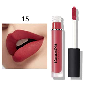 Onkessy Lip Gloss Hidratante Lápiz labial líquido no ...