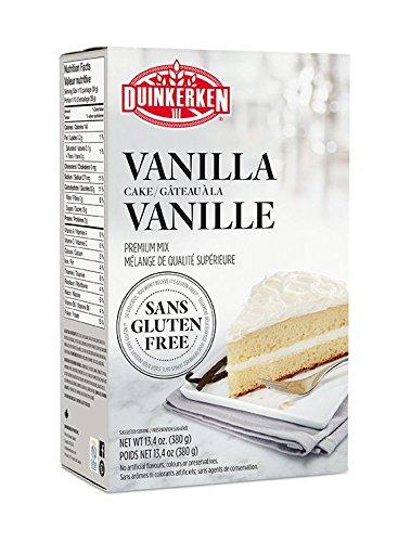 (Duinkerken Gluten Free Vanilla Cake Mix, 0.84 Pound)