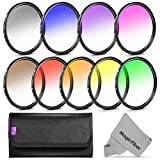 67MM Altura Photo Graduated Color Filters for CANON Rebel T5i T4i T3i T2i T1i SL1, EOS 700D 650D 600D 550D 500D 100D DSLR Cameras with a 18-135MM or 70-200MM Zoom Lens