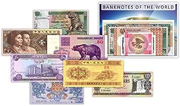 IMPACTO COLECCIONABLES Billetes del Mundo - 50 Billetes Diferentes de 34 Países: Amazon.es: Juguetes y juegos