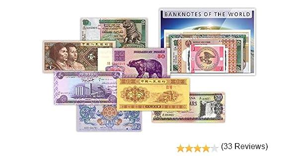 IMPACTO COLECCIONABLES Billetes del Mundo - 50 Billetes Diferentes ...