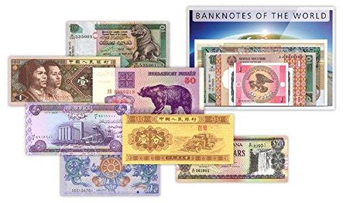 IMPACTO COLLEZIONE BANCONOTE DAL MONDO - 50 banconote da 34 paesi diversi Impacto Coleccionables
