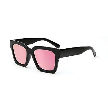 WYJL Gafas de Sol Personalidad Marea Gente Ronda Cara ...
