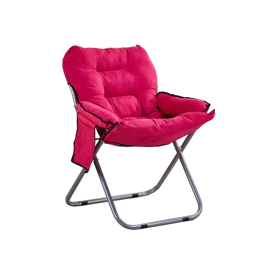 QZ HOME Stühle, Klappstuhl Fauler Stuhl Computer Stuhl Sonnenliege Freizeit Nap Schwangere Frau Haushalt Einfach (Farbe : 4)