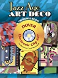 img - for Jazz Age Art Deco CD-ROM and Book (Dover Electronic Clip Art) by Serge Gladky (2007-11-02) book / textbook / text book