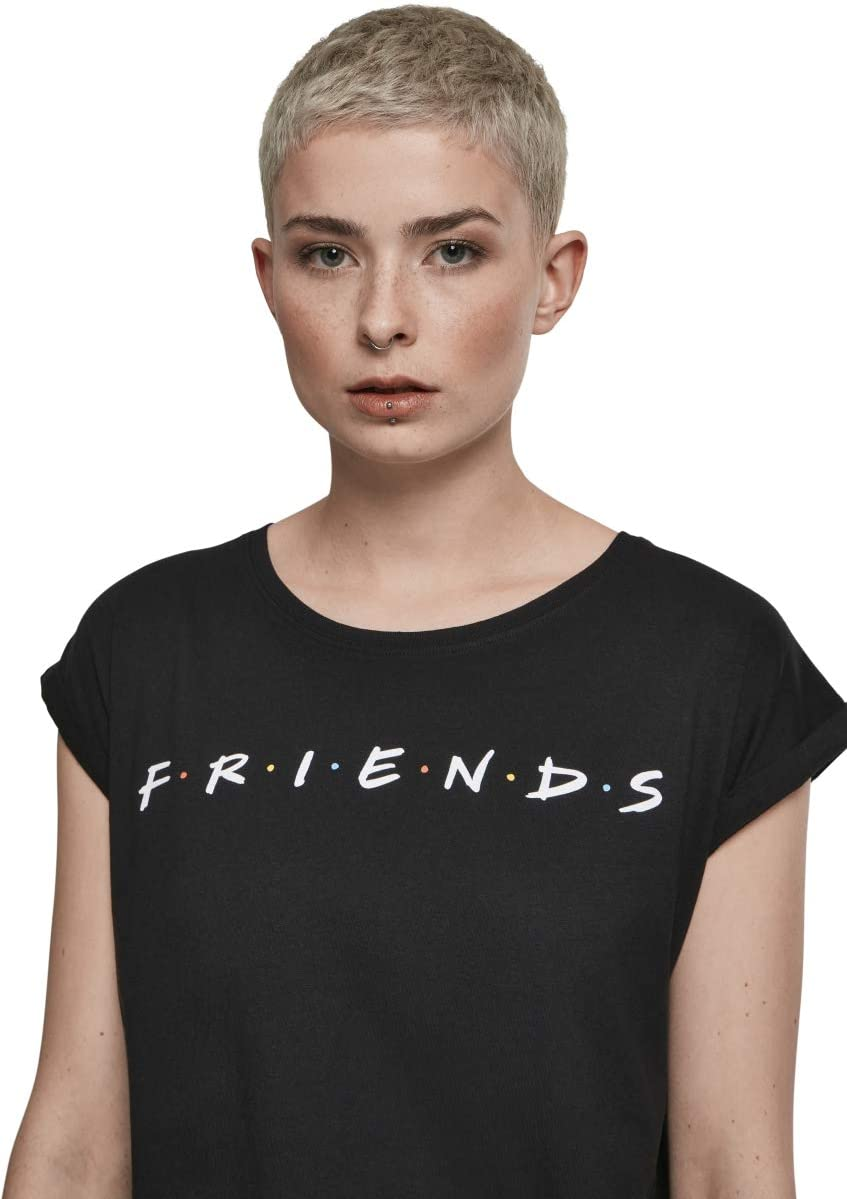 MERCHCODE Ladies Friends Logo Tee