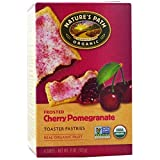 Nature's Path, Organic, Frosted Toaster Pastries, Cherry Pomegranate, 6 Tarts, 52 g Each(Pack of 1)