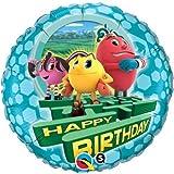 "Single Source Party Supplies - 18"" PAC-MAN Birthday Mylar Foil Balloon"