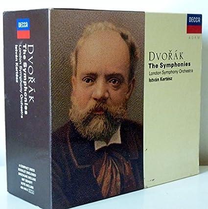 Dvorak: The Complete Symphonies - István Kertész /DECCA 6CD SET-RARE 1991 GERMANY FIRST EDITION