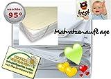 4mybaby SPECIAL TECHNIQUE Mattress Protector Waterproof Mattress Protector Bed Liner Waterproof Molton (100% Cotton) 70x 140cm