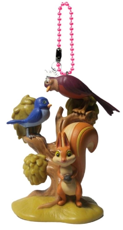 Disney's Sofia The First Mia, Whatnaught, & Robin Keychain/Dangler