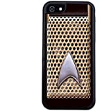Star Trek communicator iPhone 5c cell phone case by Little Brick Press (Hard Silicone Rubber)