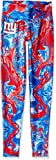 Zubaz NFL New York Giants Women's Swirl Leggings, Multicolor, Large