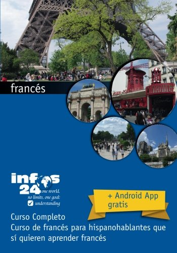 curso de frances: Curso de frances para hispanohablantes que si quieren aprender frances (Spanish Edition) [Andres Ehmann] (Tapa Blanda)