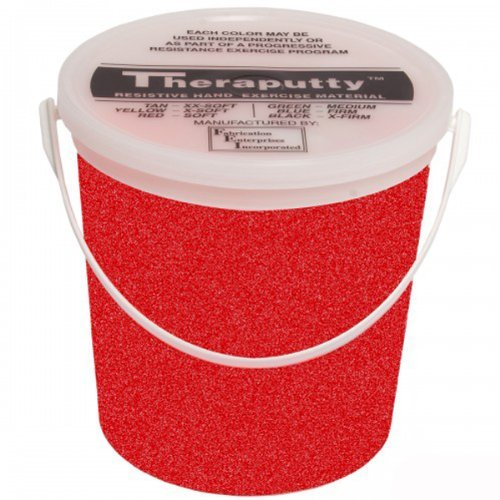DSS Sparkle Theraputty Exercise Material - 5 lb. (Red) by DSS by DSS