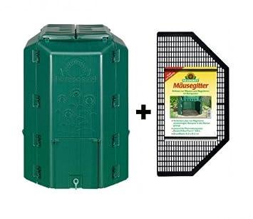 Compostador termocompostador (+ Ratones rejilla Neudorff (530 L)