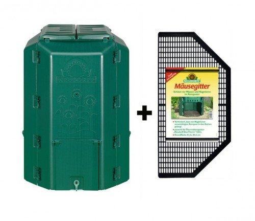 Compostador termocompostador (+ Ratones rejilla Neudorff (530 L ...