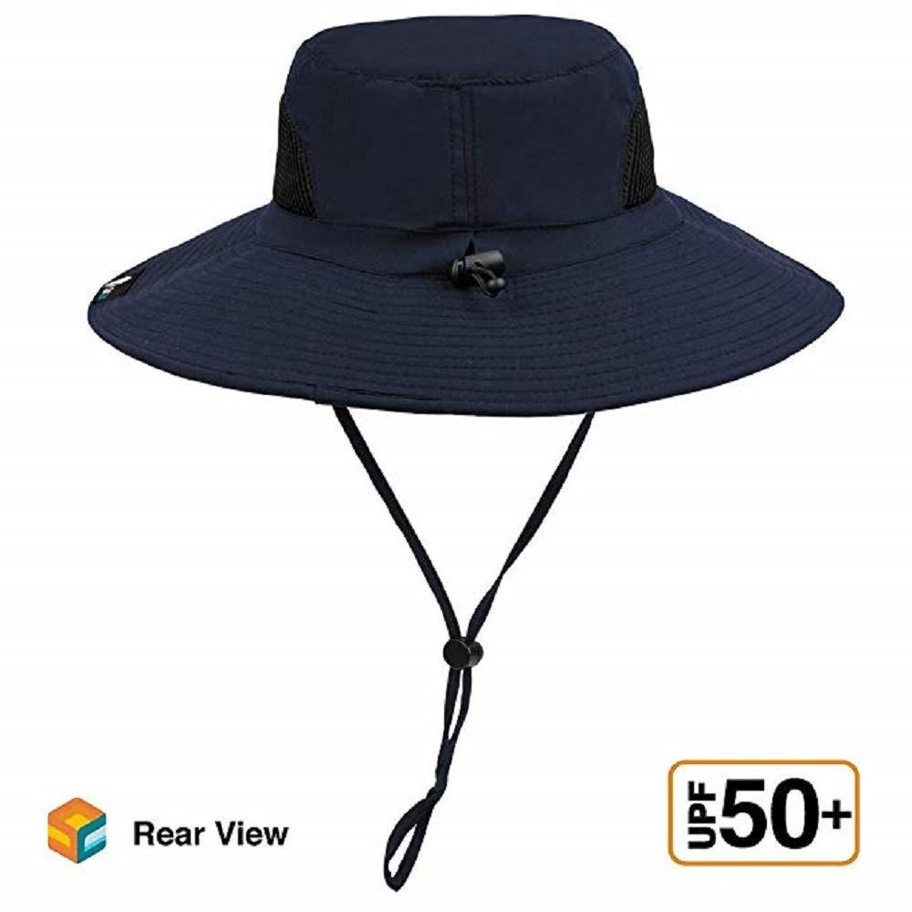 83bb33dbd Sun Cube Premium Boonie Hat | Wide Brim Adjustable Chin Strap | Outdoor  Fishing, Hiking, Safari, Summer Bucket Hat | UPF 50+ Sun Protection |  Packable ...