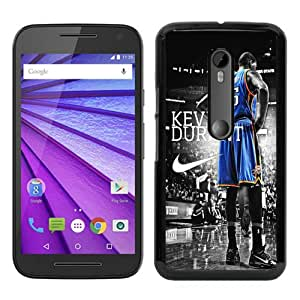 Unique Motorola Moto G 3rd Generation Case ,Fashionable And Popular Designed Case With Oklahoma City Thunder Kevin Durant 3 Black Moto G 3rd Gen Cover Case Good Quality Phone Case