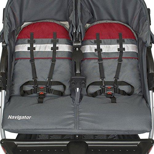 Baby Trend Navigator Double Jogger Stroller Baltic
