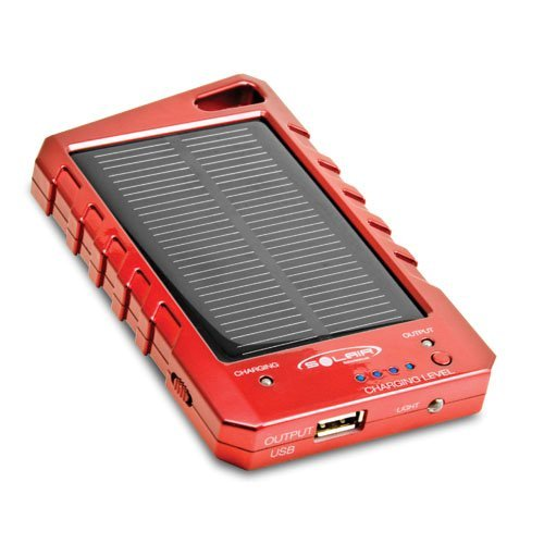 Solair SP1004R Solar Universal Portable Charger