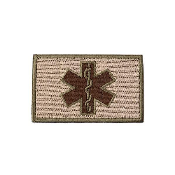 zrshygs Parche de Bordado Técnico de emergencias EMT Insignia de Brazalete de Moral táctica - Azul 4
