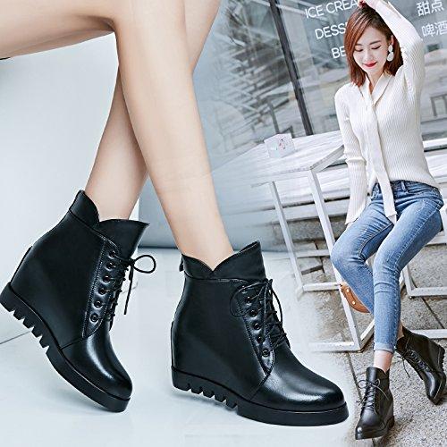 Boot Khskx Inviernotreinta Wedge Y Botas Ochoblack En Zapatos Mayor Shoes Mujer De Invierno martin Nuevas qqzfwrpZ