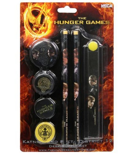 The Hunger Games Movie - Stationery Set on Backercard