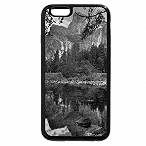 iPhone 6S Case, iPhone 6 Case (Black & White) - Colorful Corner in Nature