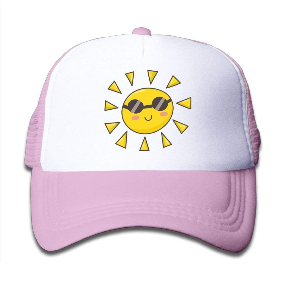 Mesh Baseball Hats Girl Cute Sun Glasses Funny Adjustable