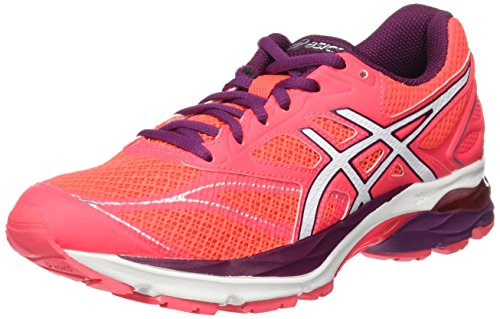 Women's Pink Pink 8 Diva Asics Pink White Pulse Coral Gel Shoes Running 1d6Yqp