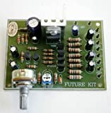 Video Signal Amplifier 1 CH to 4 CH 1-4dB 75Ohm Impedance 12VDC Supply Assembled Electronic Circuit Board : FA655