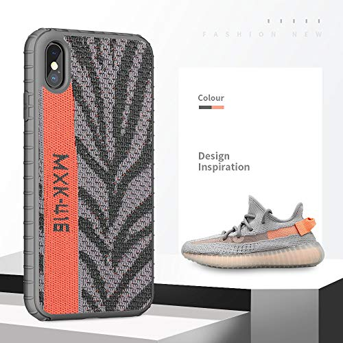 - Yeezy iPhone Xs Max Case,Hard PC+ Yeezy 350 Sneakers Material,Drop Protection & Anti Scratch Ultra Slim Sport Cover for iPhone 6.5 inch(Zebra Orange)