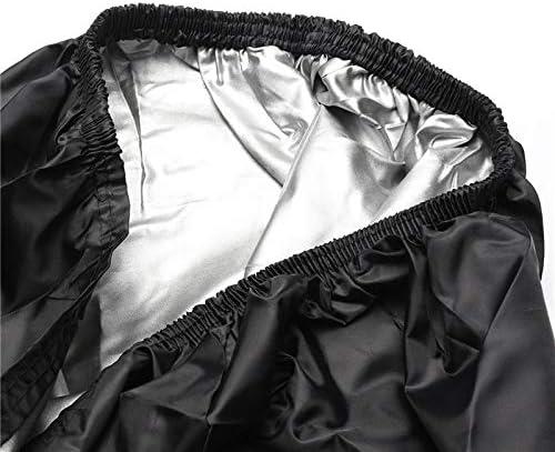 Black dDanke 2.9x1.5x1.9m Heavy Duty Waterproof Dust-proof 210D Polyester UTV Cover with Storage Bag
