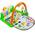 Baby Play Gym Piano Mat - Infant Activity Center, Kick and Play Newborn Toy For Boys and Girls 2 - 36 Month, Lay and Play, Tummy Time, Sit and Play, 4 Activity Toys, Mirror, Piano by Tapiona by Tapiona that we recomend individually.