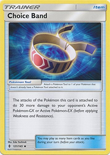 - Pokemon Choice Band - 121/145 - Uncommon - Sun & Moon: Guardians Rising