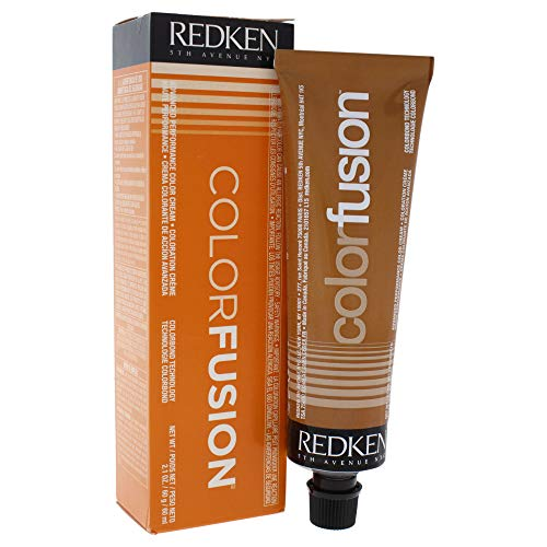 Redken Color Fusion Cream Natural Fashion Hair Color for Unisex, No.4BR Brown/Red, 2.1 Ounce