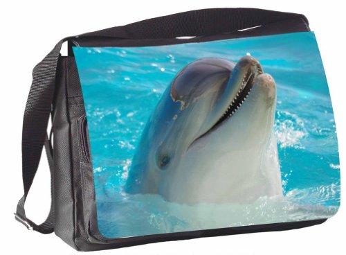 Design / Motiv Schultertasche Mailand Delfin